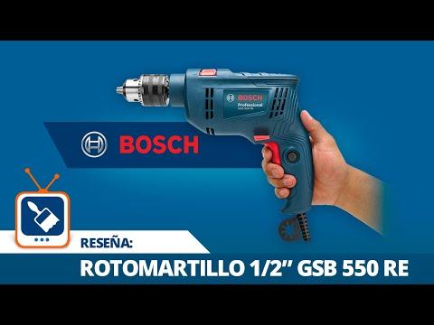"""Reseña: Rotomartillo de 1/2"""" GSB 550 RE Bosch"""