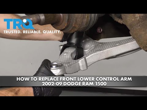 How to Replace Front Lower Control Arm 2002-09 Dodge RAM 1500