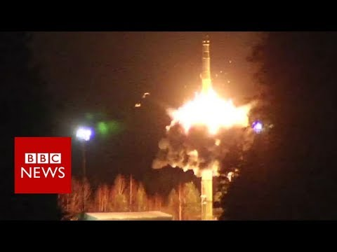 Russia holds nuclear-capable missile tests - BBC News