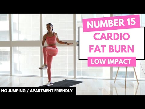 NO JUMPING CARDIO WORKOUT - LOW IMPACT HIIT - No.15