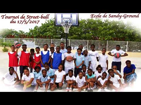 Le tournoi street-ball / Sandy-Ground