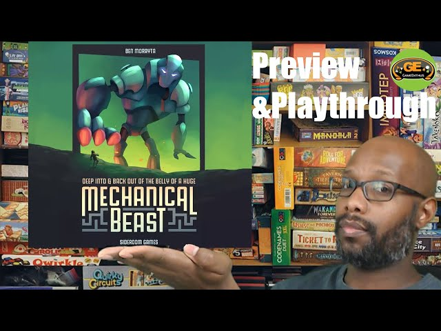 Mechanical Beast Preview & Solo Playthrough