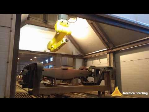 Robot For High Temperature Pressure Washing