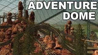 rct3 adventure dome world s largest indoor theme park hd