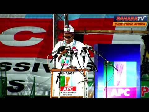General Muhammadu Buhari's Speech At The APC's Convention