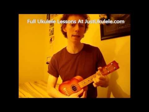 Learn Ukulele Easy Beginner Lesson Teenage Kicks 4 Easy Chords