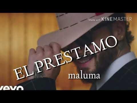 El prestamo MALUMA audio oficial mp3 (lyric)