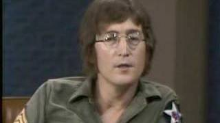 Show cavett lennon dick The john