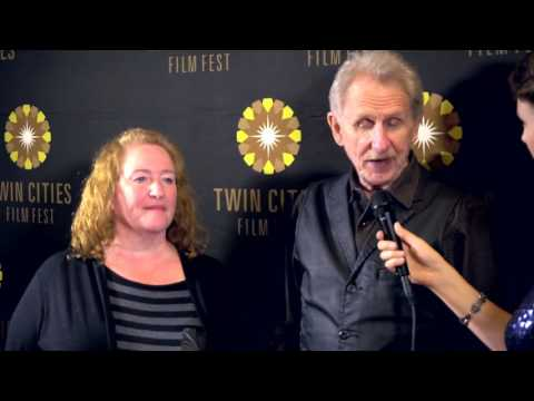 2016 TCFF Red Carpet : Rene Auberjunois & Rusty Schwimmer, BloodStripe