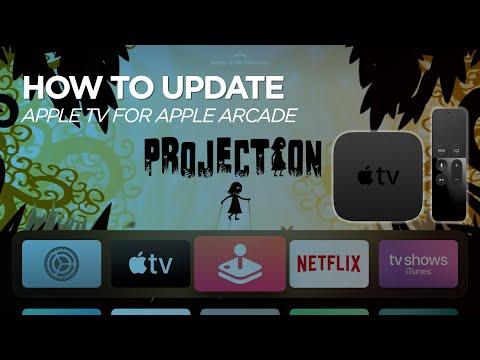 Apple TV Software Update For Apple Arcade & TV+