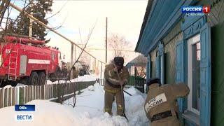 Спасатели в ходе акции помогают новосибирским ветеранам и труженикам тыла