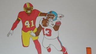 Odell Beckham Jr. makes amazing one-handed catch vs The Washington Redskins (Flip book style)