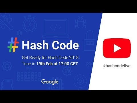 Get Ready for Hash Code 2018