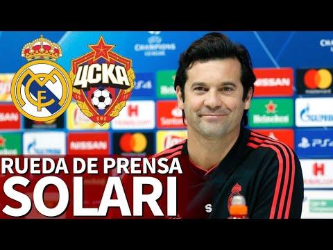 Real Madrid - CSKA Moscú | Rueda de prensa previa de Solari | Diario AS