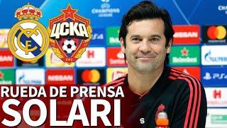 Real Madrid - CSKA Moscú   Rueda de prensa previa de Solari   Diario AS