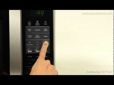 Samsung Ce73jd Convection Microwave Oven How To Set Up Convection