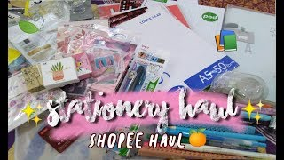 STATIONERY HAUL✨Back To School Supplies Haul 2019  | Indonesia