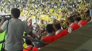 Fenerbahçe - Shaktar Donetsk basına saldırı...