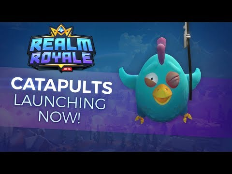 Realm Royale OB15 - Catapults Now Launching in the Realm!