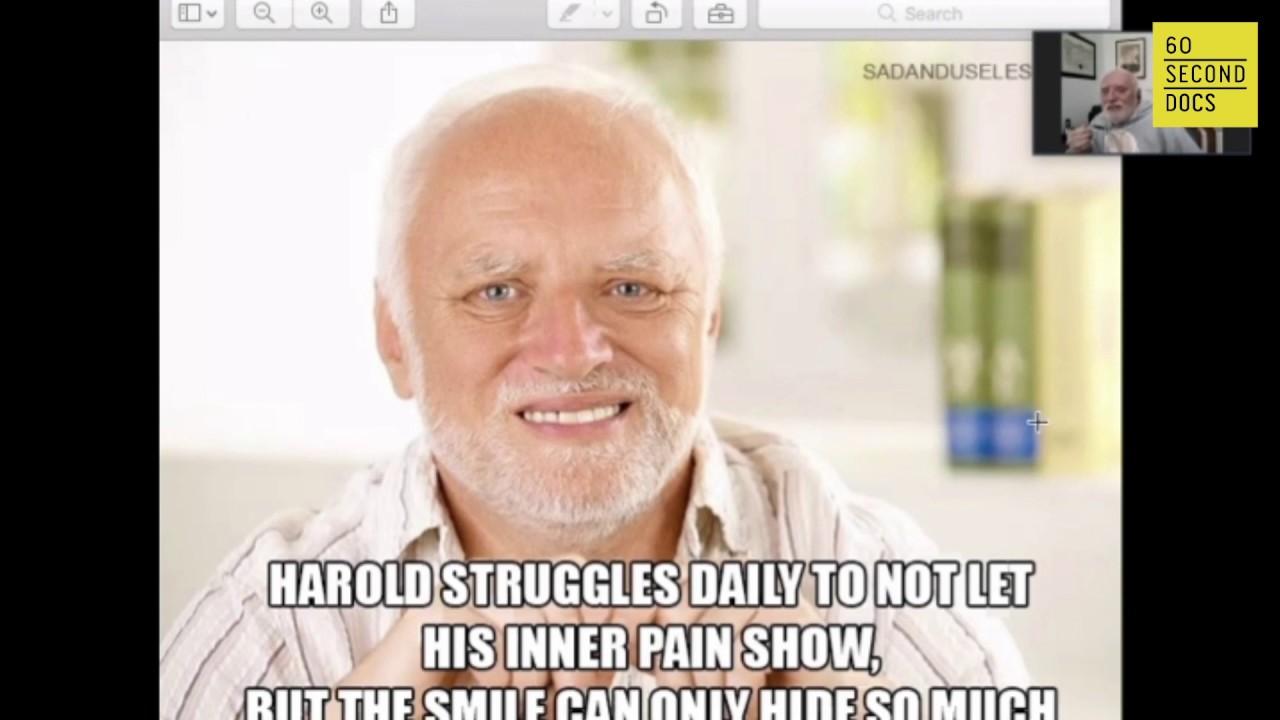 Meet Hide The Pain Harold Andras Arato 60 Second Docs Live