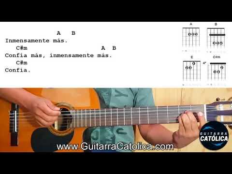 Confío En Ti (Jésed) - Tutorial Guitarra Católica