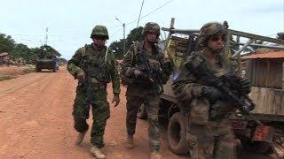 Estonian troops arrive in Central African Republic