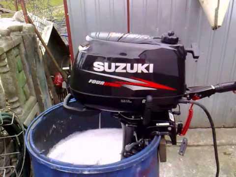 Suzuki 5 Hp Outboard Motor 2012r Four Stroke 4 Suw