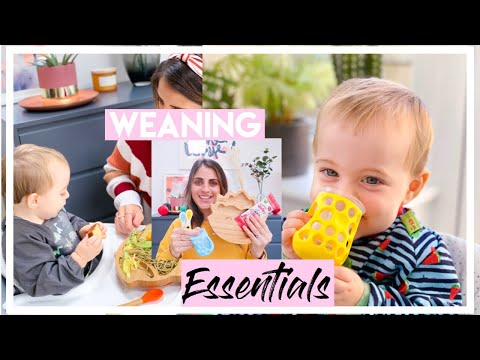 WEANING ESSENTIALS | BABY WEANING MUST HAVES | BABY LED FEEDING