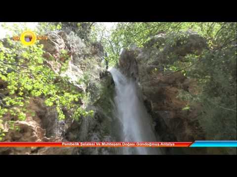 Pembelik Şelalesi Ve Muhteşem Doğası Gündoğmuş Antalya