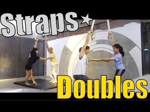 ストラップス(straps)練習風景♪