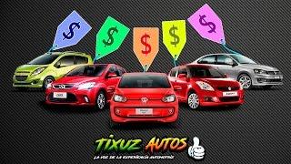 Los mejores autos de 0 a 200 mil Pesos | Tixuz Autos