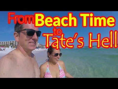 Full Time RV Living | Destin Beach Florida Rocks! | S2 EP042