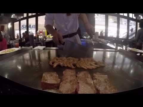 NINJA! HIBACHI JAPANESE STEAKHOUSE-GRILL-Tokyo Special Steak, Chicken & Shrimps