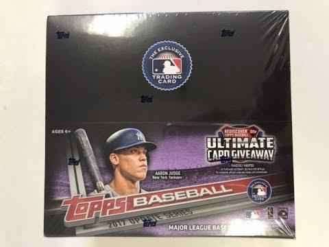 2017 Topps Update Baseball - 24pk Retail Box Break #1