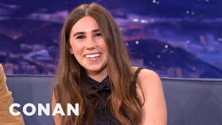 Zosia Mamet Confirms That Dating Today Is Pretty Effing Bad - CONAN on TBS