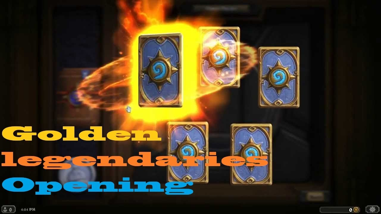how to redeem golden pack hearthstone