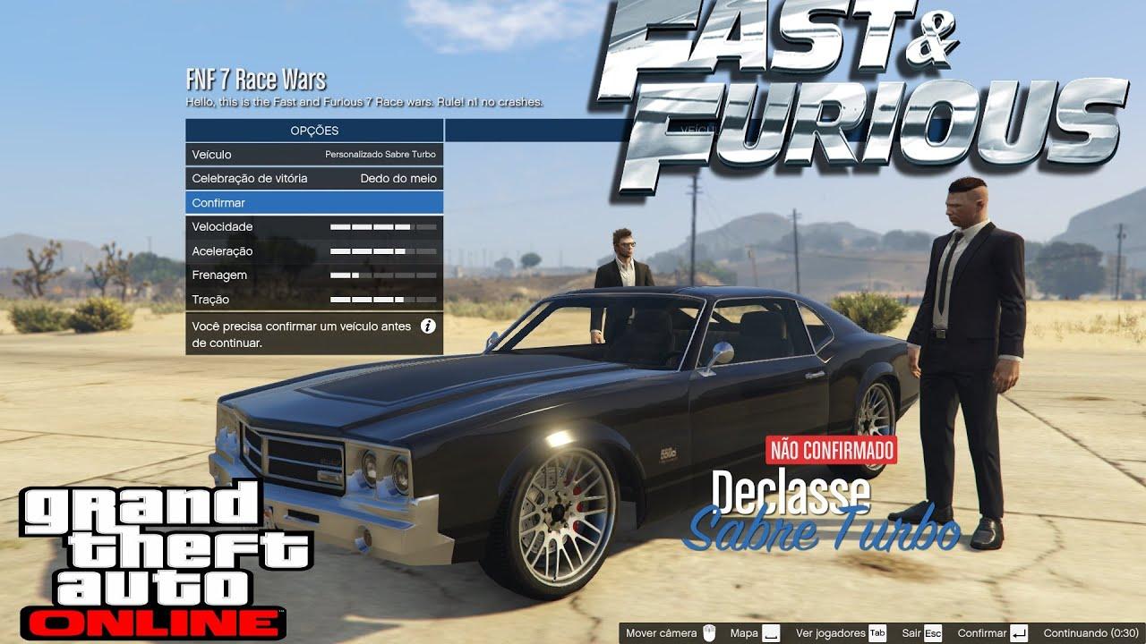 Fast And Furious 7 Race Wars GTA 5 PC Custom Race Created