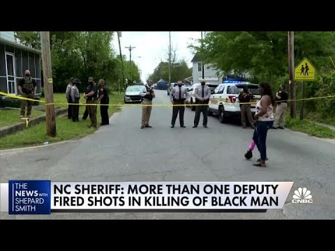 N.C. sheriff: More than one deputy fired shots in killing of black man