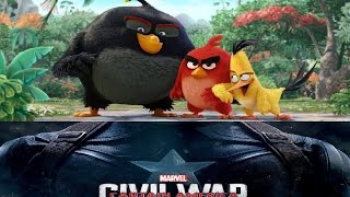 Angry birds #1 at the box office, Civil war Cross 1 billion, Box Office Report 05/22/2016