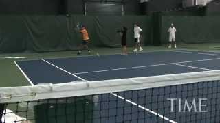 Видео Уроки Большой Теннис Подача Удары техника