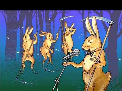 «Песня про зайцев», Никулин Юрий, Из фильма Бриллиантовая рука: караоке и текст песни