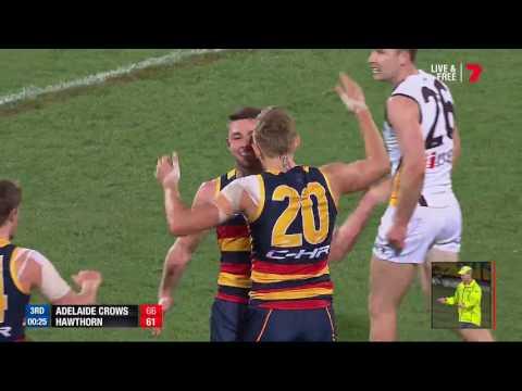 Highlights: Adelaide v Hawthorn