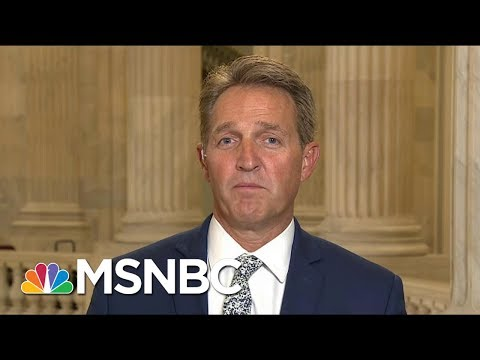 Senator Jeff Flake On White House Behavior: We Can't Continue To Remain Silent   Morning Joe   MSNBC