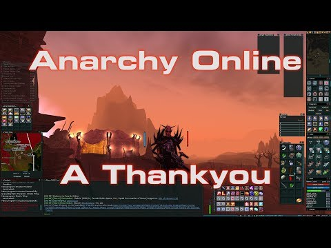 Anarchy Online 2018: – A Thank You