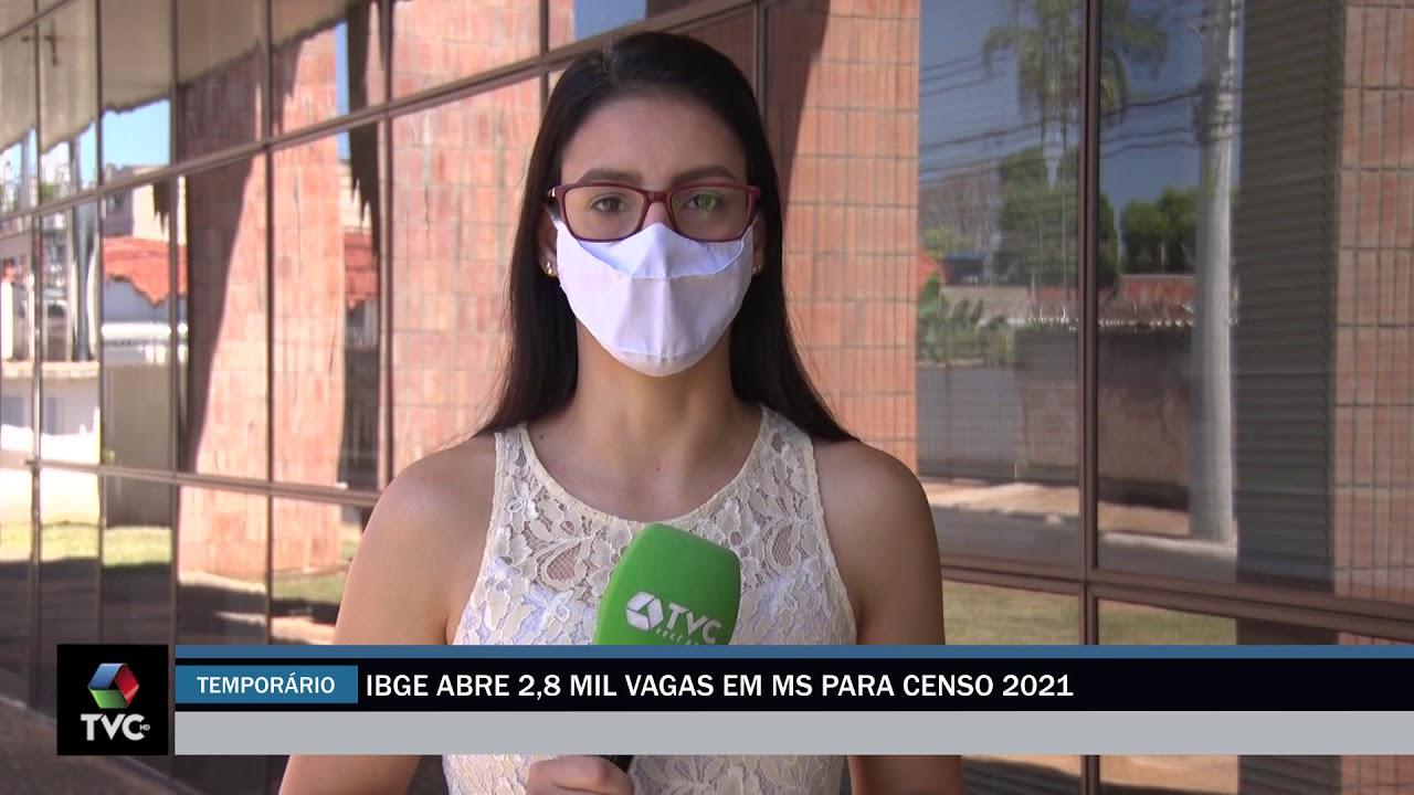 IBGE abre 2,8 mil vagas em M para Censo 2021