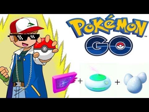 pokemon go lure module incense lucky egg ultimate pokemon hotspot youtube. Black Bedroom Furniture Sets. Home Design Ideas