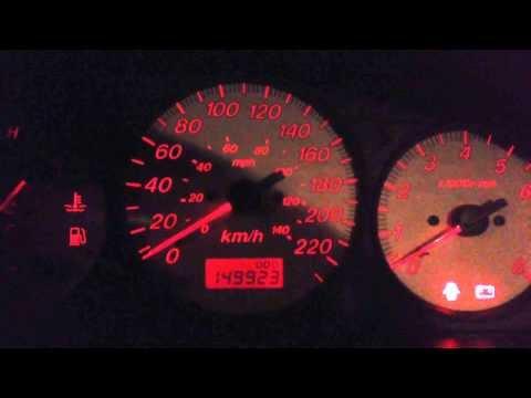 2001 Mazda Protege MP3 -20 cold start