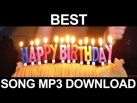 Free Mp3 Download Happy Birthday Instrumental Song