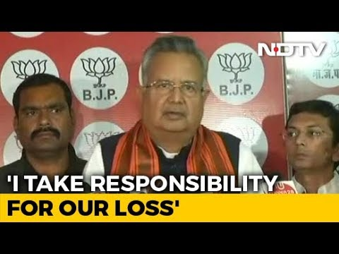 Assembly Election Results 2018 - Raman Singh Bows Out As Chhattisgarh Chief Minister