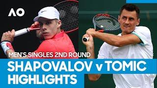 Denis Shapovalov vs Bernard Tomic Match Highlights (2R) | Australian Open 2021